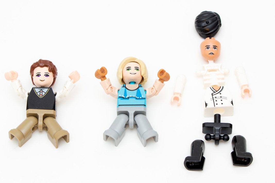 Die Minifiguren von Zhe Gao sind denen von Lego in vielerlei Hinsicht überlegen - und sehen dennoch anders aus