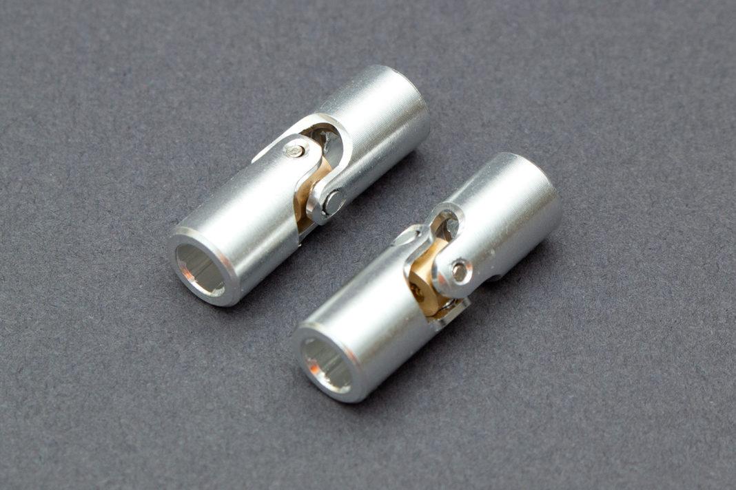 Die Kardanwellen aus Aluminium sind für die motorisierte Variante vorgesehen
