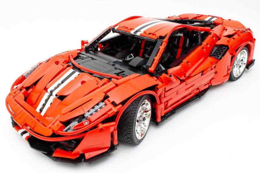 Das fertige Italian Super-Car in seiner vollen Pracht