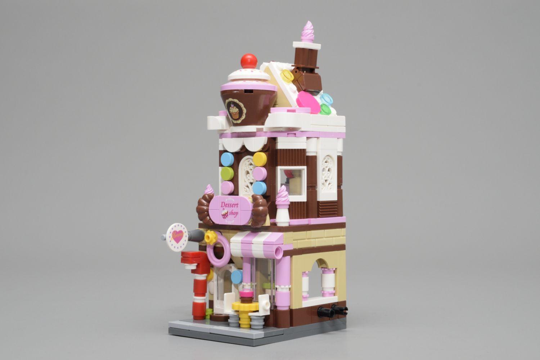 Die Front des Honey Sweet Dessert House