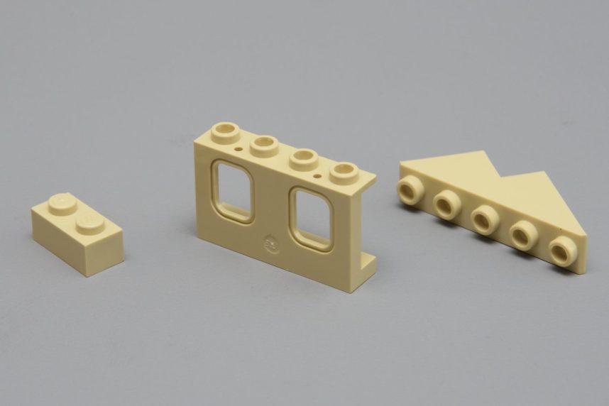 Teile die bei Lego bisher nie oder sehr selten verwendet wurden