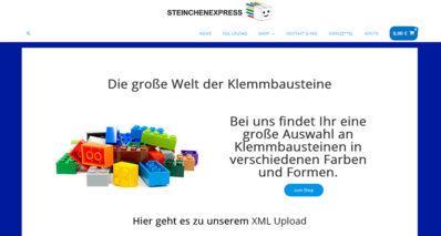 Steinchenexpress erweitert Online-Shop um XML-Funktion