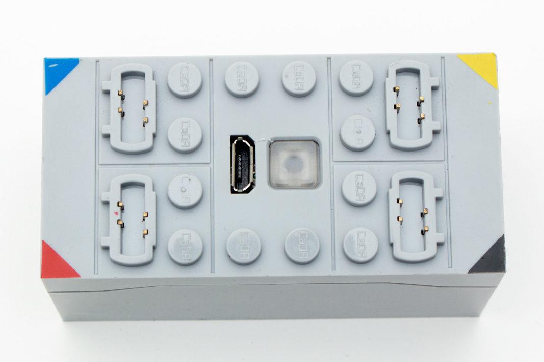 Die Batteriebox enthält einen festverbauten Akku, eigene Batterien können nicht verwendet werden