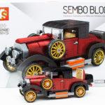 Sembo 607405 - Oldtimer in rot-schwarz im Review