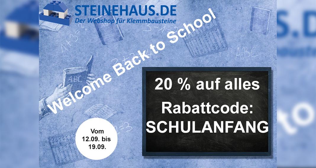 """""""Back to School""""-Aktionswoche im Steinehaus"""
